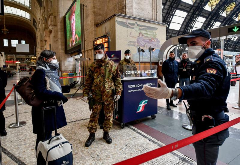Zaštićena zona: Italija nakon što je stavljena u karantenu
