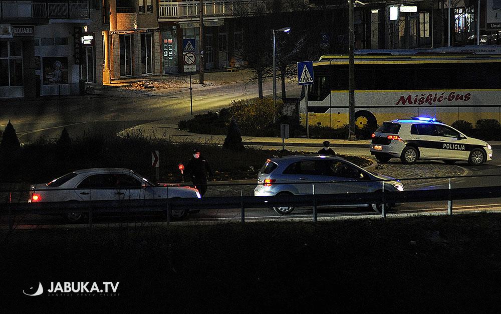 Policijski sat u Širokom Brijegu: Zabilježeno nekoliko prekršenih Mjera zabrane kretanja