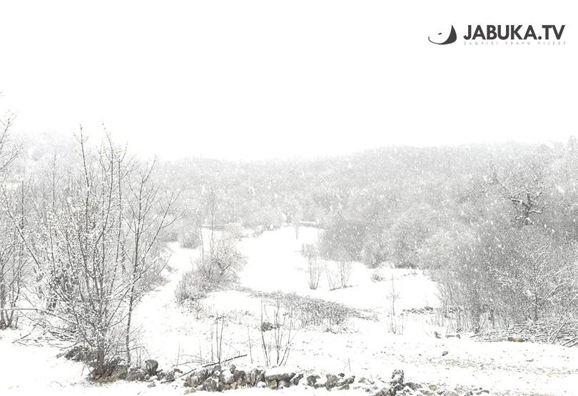 Snijeg iznenadio Hercegovinu