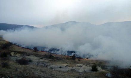 Ponovno izazvan požar u Tribistovu