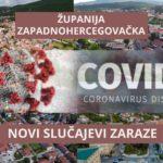 Koronavirus u ŽZH: 24 novozaražene osobe, 29 se oporavilo
