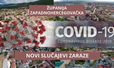 Po dva nova slučaja koronavirusa u Širokom Brijegu i Grudama