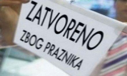 1. i 2. svibnja neradni dani u Federaciji BiH