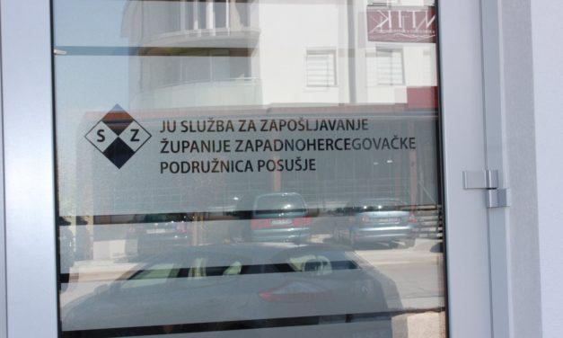 U ŽZH 228 otkaza za manje od mjesec dana, HNŽ 660 otkaza