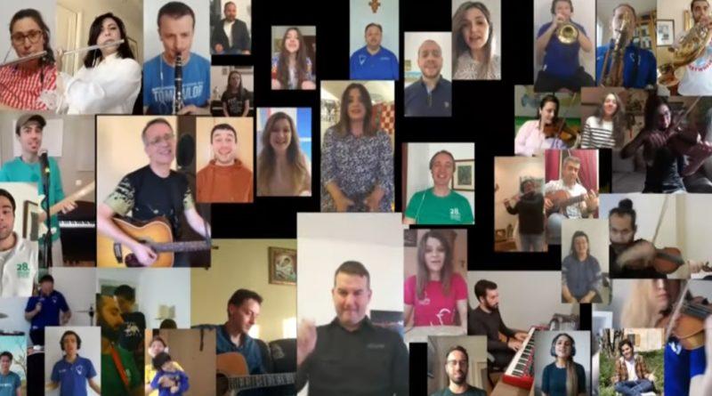 [VIDEO] Sudionici Mladifesta iz cijelog svijeta virtualno se okupili i snimili 'Hosanu'