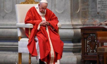 Papa služio misu u praznoj bazilici sv. Petra