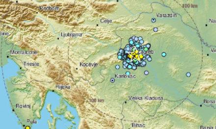 Novi potresi Zagrebu, jači je bio magnitude 3,2