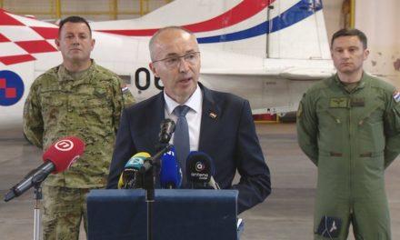 Piloti poginuli u padu zrakoplova, Krstičević podnio ostavku