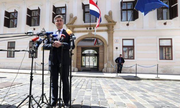 Plenković: Raspuštanje Hrvatskog sabora 18. svibnja