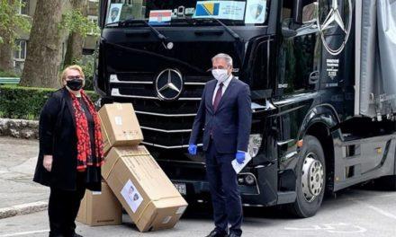 U Sarajevo stigla pomoć Republike Hrvatske vrijedna 300.000 KM