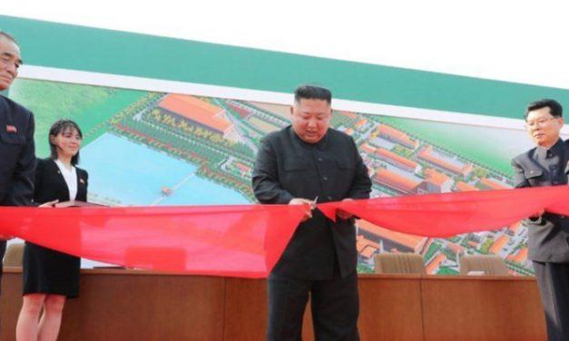 Ako se netko brinuo Kim Jong-Un je dobro, otvorio je tvornicu umjetnog gnojiva