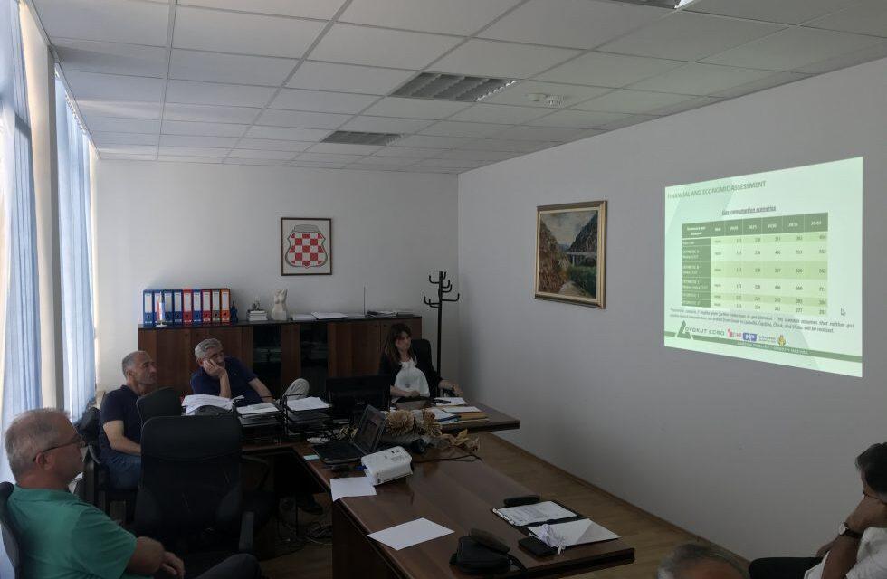 MINISTARSTVO GOSPODARSTVA ŽZH: Održan sastanak za izgradnju plinovoda Južna interkonekcija BiH i RH