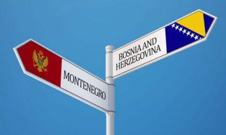 Crna Gora zatvorila granicu s BiH