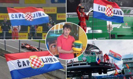 Upoznajte ljubitelja F1 iz Čapljine koji svake godine sa zastavom HRB začini utrku u Monzi