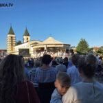 Tisuće vjernika na 39. obljetnici Gospinih ukazanja u Međugorju