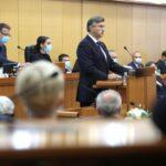 Sa 76 glasova potvrđena nova Plenkovićeva vlada, 59 ih je bilo protiv