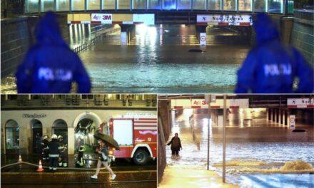 POPLAVE U ZAGREBU: Vatrogasci odradili 200 intervencija, cijelu noć ispumpavali vodu, spasili više starih i nemoćnih…