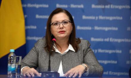Ministrica civilnih poslova BiH verbalno napadnuta zbog uporabe hrvatskog jezika