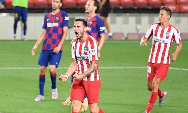 Atletico uzeo bod Barceloni i udaljio je od borbe za naslov, Messijev 700. pogodak u karijeri