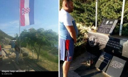 MUP ZHŽ ima tragove o osobi koja je urinirala po spomen-ploči Ludvigu Pavloviću