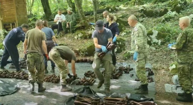 ŽRTVE PARTIZANSKIH EGZEKUCIJA: Završena ekshumacija iz jame Jazovka, izvađeni posmrtni ostaci 814 osoba