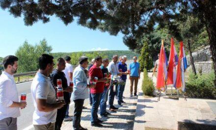 Braniteljske udruge i općina Posušje osudile vandalski čin nad spomenikom Ludvigu Pavloviću