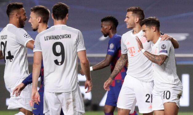 LP: Bayern deklasirao Barcelonu, Perišić strijelac
