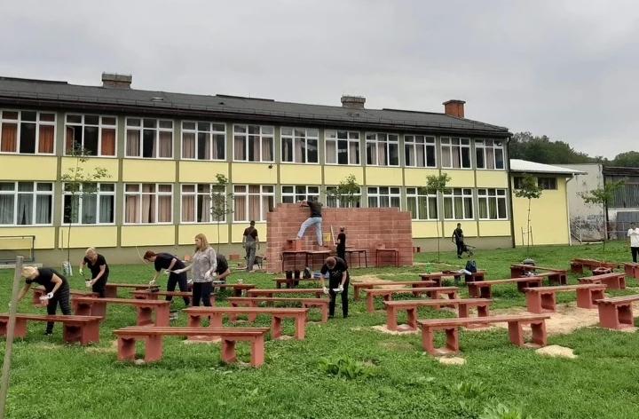 JEDINSTVEN NAČIN: Prva učionica na otvorenom u BiH bit će spremna za novu školsku godinu