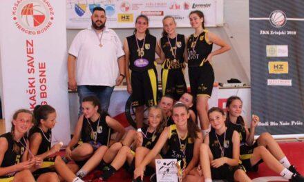 """Posuške košarkašice srebrne na """"Ladies cup MOSTAR"""""""