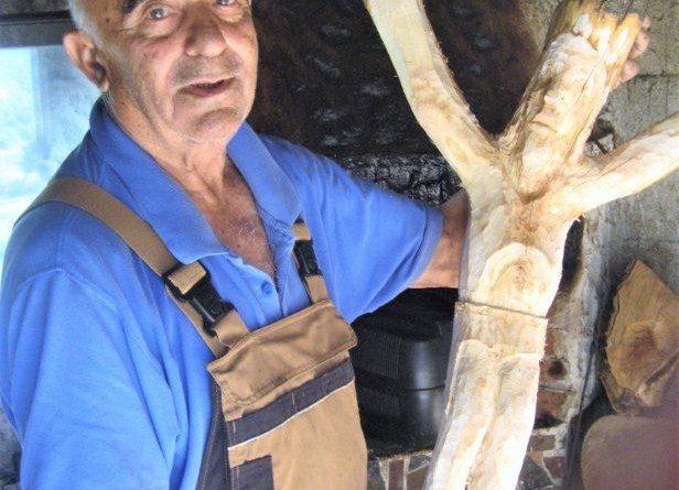 "VRIJEDNI KIPAR LJUBO MIHALJ IZ RAKITNA – ""Radim jubilarni kip Raspelo"""