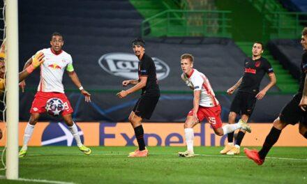 Leipzig preko Atletica do polufinala Lige prvaka, Olmo strijelac