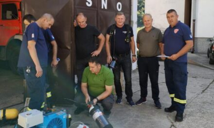 Uprava civilne zaštite ŽZH nabavila kompresor za punjenje boca izolacijskih aparata za vatrogasne postrojbe