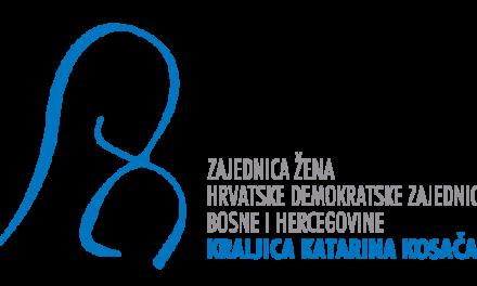 U subotu u Kosači IV. Konvencija Zajednice žena HDZ-a BiH