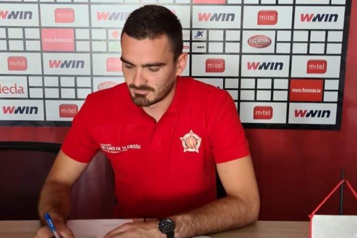 Luka Kukić novi je igrač premijerligaša Slobode iz Tuzle