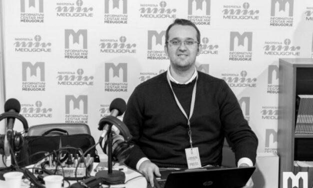 Preminuo Mario Pinjuh, djelatnik Radiopostaje Mir Međugorje