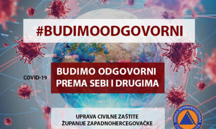Danas započela kampanja Uprave civilne zaštite pod nazivom #BUDIMOODGOVORNI