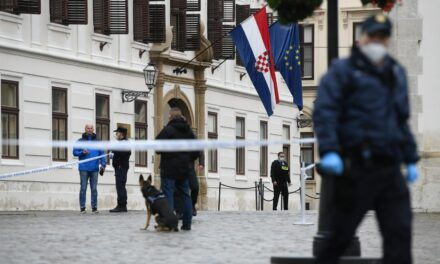 Kod zgrade hrvatske Vlade upucan policajac. Napadač koji se ubio imao je 22 godine