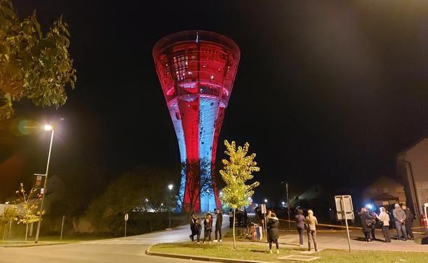 Otvoren je Vukovarski vodotoranj – simbol hrvatskog zajedništva