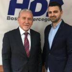 Sastanak kandidata za načelnika općine Posušje Ante Begića s Federalnim ministrom Josipom Martićem
