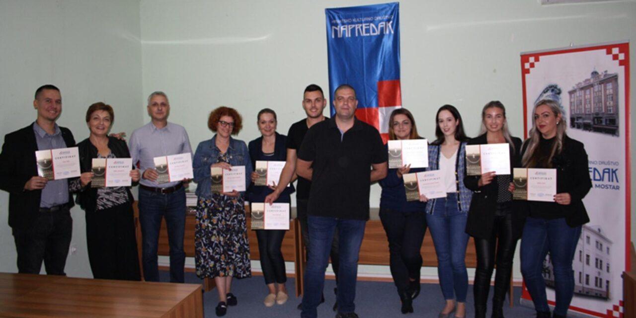 Završen Napretkov tečaj pisanja tekstova iz područja copywritinga
