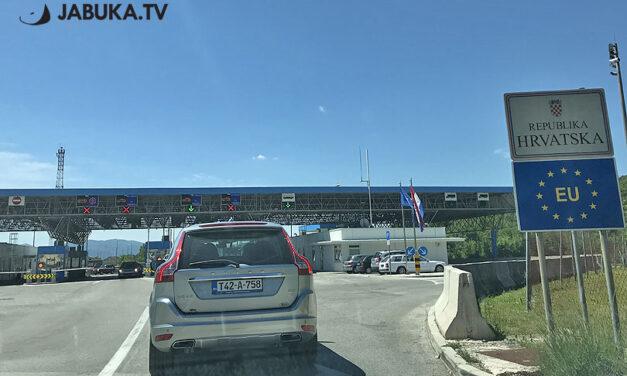 Hrvatska produljila režim prelaska granice