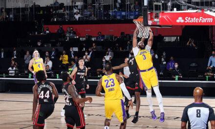 Lakersi uvjerljivi protiv Miamija u prvoj utakmici finala NBA