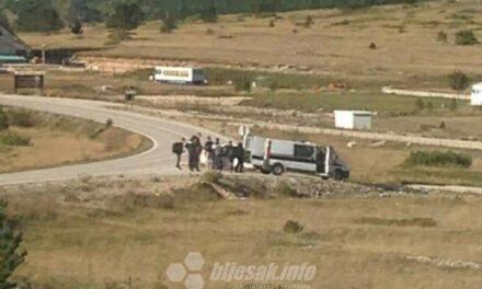 Migranti iz Irana koji su uhićeni na Blidinju krenuli u Tomislavgrad, policija ih vratila u Mostar