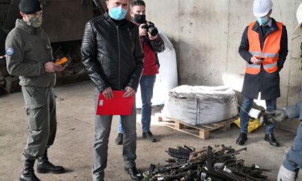 Uništena 72 komada oružja koje je prikupio MUP ŽZH