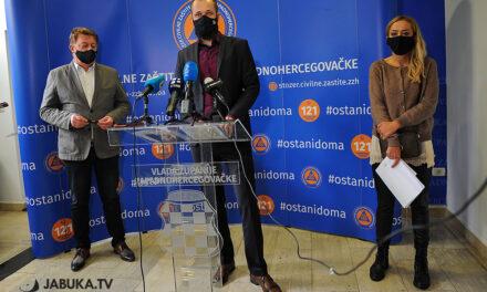 Predstavnici Stožera civilne zaštite ŽZH održali konferenciju za medije