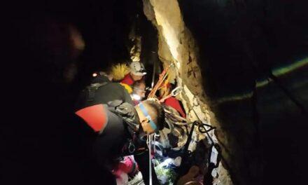 """HGSS STANICA POSUŠJE: Spašena jedna osoba u kanjonu """"BRINA"""""""