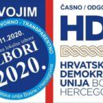 HDU BiH poziva žitelje Posušja da izađu na izbore i daju podršku Anti Begiću