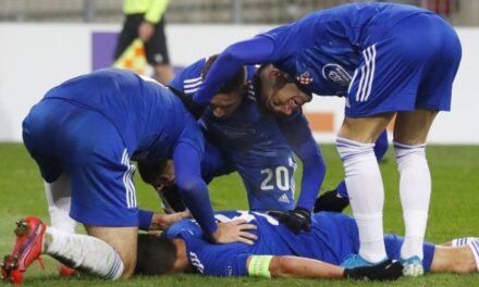 Uvjerljiva pobjeda Dinama u Klagenfurtu za korak do europskog proljeća