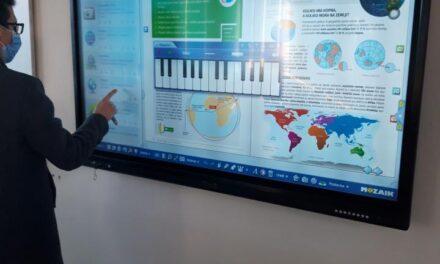 U OŠ Franice Dall'era Vir modernom tehnologijom do boljeg obrazovanja