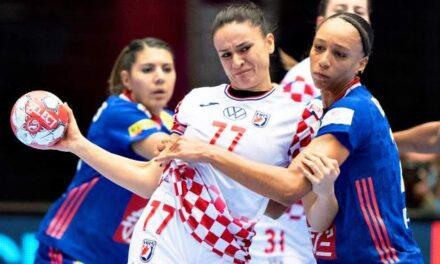 Francuskinje deklasirale Hrvatsku u polufinalu EP-a